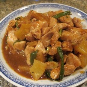 Homestyle Sweet and Sour Chicken