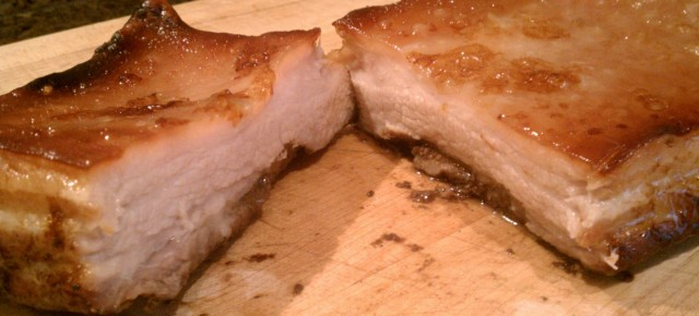 Homemade Chinese Roast Pork
