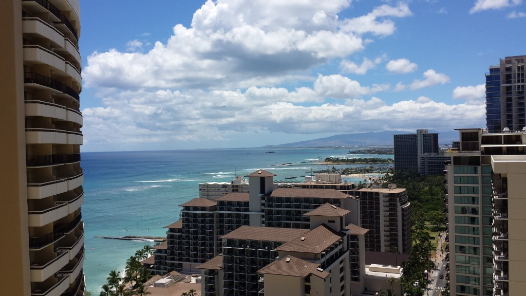 View from Sheraton Waikiki