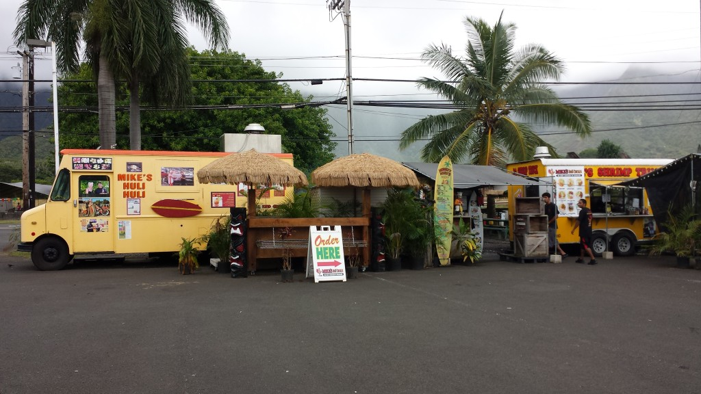 Stopped at Mike's Huli Huli chicken food truck for lunch