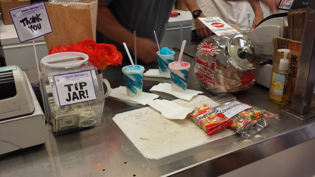 Snacks and Shave Ice