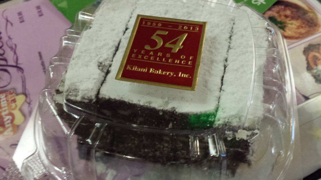 Kilani Bakery brownies