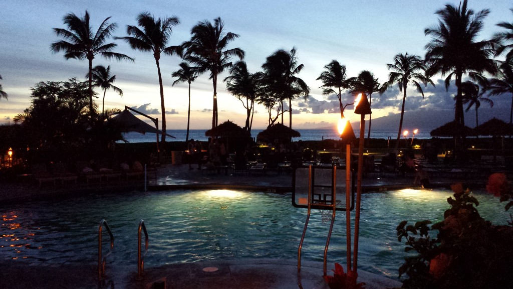 Sunset at Westin